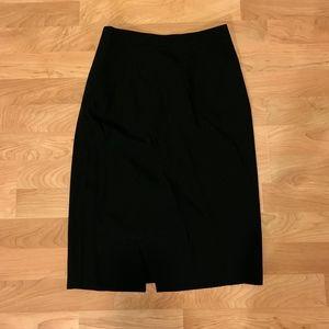 J. Crew Wool Blend Pencil Skirt